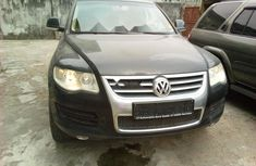 Foreign Used Volkswagen Touareg 2008 Model Black
