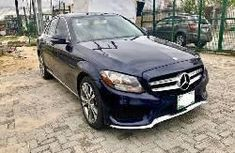 Nigerian Used Mercedes-Benz C300 2016 Model Blue