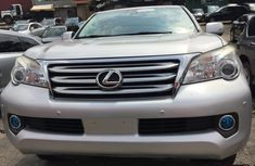 Neat Silver 2011 Foreign Used Lexus GX 460 Jeep for Sale in Lagos