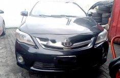 Nigerian Used Toyota Corolla 2008 Model Black
