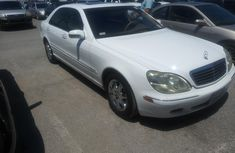 Foreign Used Mercedes-Benz S-Class2001 Model White