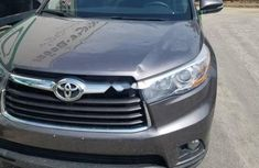 Tokunbo Toyota Highlander 2016 Model