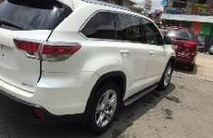 Foreign Used Toyota Highlander 2016 Model White