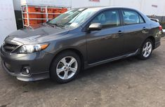 Foreign Used Toyota Corolla 2011 Model Grey/Silver