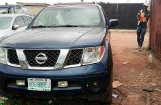 Nigerian Used Nissan Pathfinder 2005 Model Blue