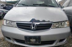 Nigerian Used Honda Odyssey 2004 Model Grey/Silver