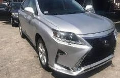 Foreign Used Lexus RX 2012 Model Grey/Silver