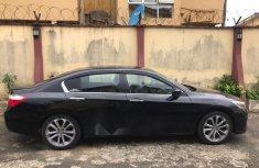 Nigerian Used Honda Accord 2015 Model Black