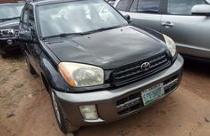 Nigerian Used Toyota RAV4 2003 Model Black