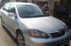 Nigeria Used Toyota Corolla 2004 Model