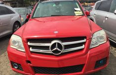 Foreign Used Mercedes Benz GLK350 2011 Model Red for Sale