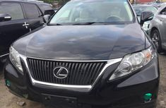 Foreign Used Lexus 350 RX 2011 Model Black for Sale in Lagos