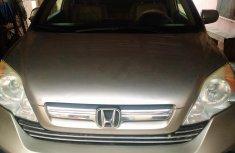 Nigerian Used Honda CR - V 2016 Model Gold for Sale