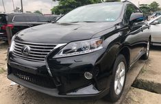 Black Foreign Used Lexus RX 350 2012 Model for Sale in Nigeria