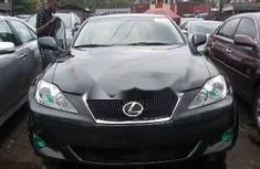 Foreign Used Lexus IS 2008 Model Black