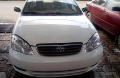 Foreign Used Toyota Corolla 2003 Model White