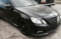 Foreign Used Mercedes Benz E350 2011 Model Black for Sale
