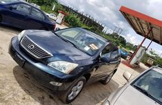 Foreign Used Lexus RX 2004 Model Black