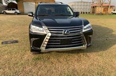 Foreign Used Lexus LX 2017 Model Black