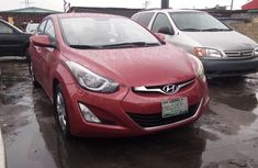 Nigerian Used Hyundai Elantra 2014 Model Red