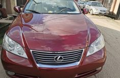 Foreign Used Lexus ES 2007 Model Red