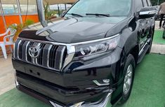 Nigerian Used Toyota Land Cruiser Prado 2012 Model Black