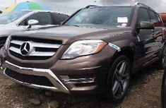 Foreign Used Mercedes-Benz GLK 2015 Model Gold