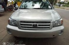Foreign Used Toyota Highlander 2004 Model