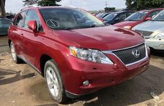 Clean Tokunbo Lexus RX 2011 Model Red