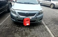 Nigerian Used Toyota Corolla 2007 Model Blue