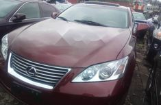 Foreign Used Lexus ES 2008 Model Red