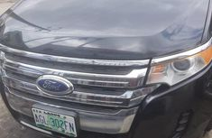 Nigerian Used Ford Edge 2014 Model Black
