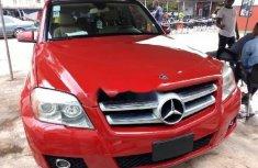 Clean Tokunbo Mercedes-Benz GLK 2010 Model Red