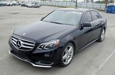 Foreign Used Mercedes-Benz E350 2016 Model Black