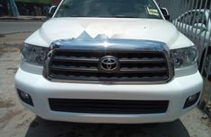 Foreign Used Toyota Sequoia 2008 Model White