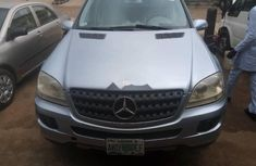 Nigerian Used Mercedes-Benz ML350 2007 Model Blue