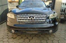 Nigeria Used Infiniti FX35 2003 Model Black for Sale