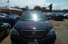 Clean Nigerian Used Lexus RX 330 2005 Model Black
