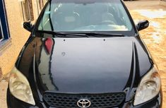 Neat Nigerian Used Toyota Matrix 2006 Model Black
