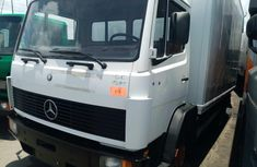 Foreign Used 2002 Mercedes Benz Pick Up Truck White