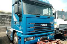 Tokunbo 1996 Model Iveco Eurostar Truck Blue for Sale in Lagos
