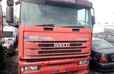 Red Tokunbo 1996 Model Iveco Eurostar Truck for Sale