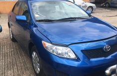 Foreign Used Toyota Corolla 2009 Model Blue