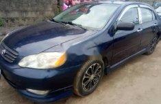 Super Clean Nigerian used Toyota Corolla 2003