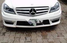 White Nigerian Used Mercedes-Benz C300 2012 Model
