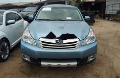 Foreign Used Subaru Outback 2010 Model Blue