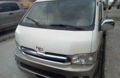 Super Clean Nigerian used Toyota HiAce 2009