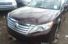 Foreign Used Toyota Avalon 2012 Model