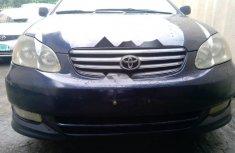 Neat Nigerian used Toyota Corolla 2003