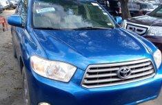 Tokunbo Toyota Highlander 2008 Model  Blue